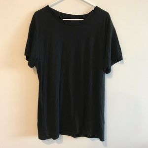Urban Outfitters Black Basic Tee